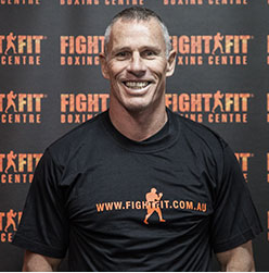 Fight Fit Training Camp Instructor Paul Fyfield